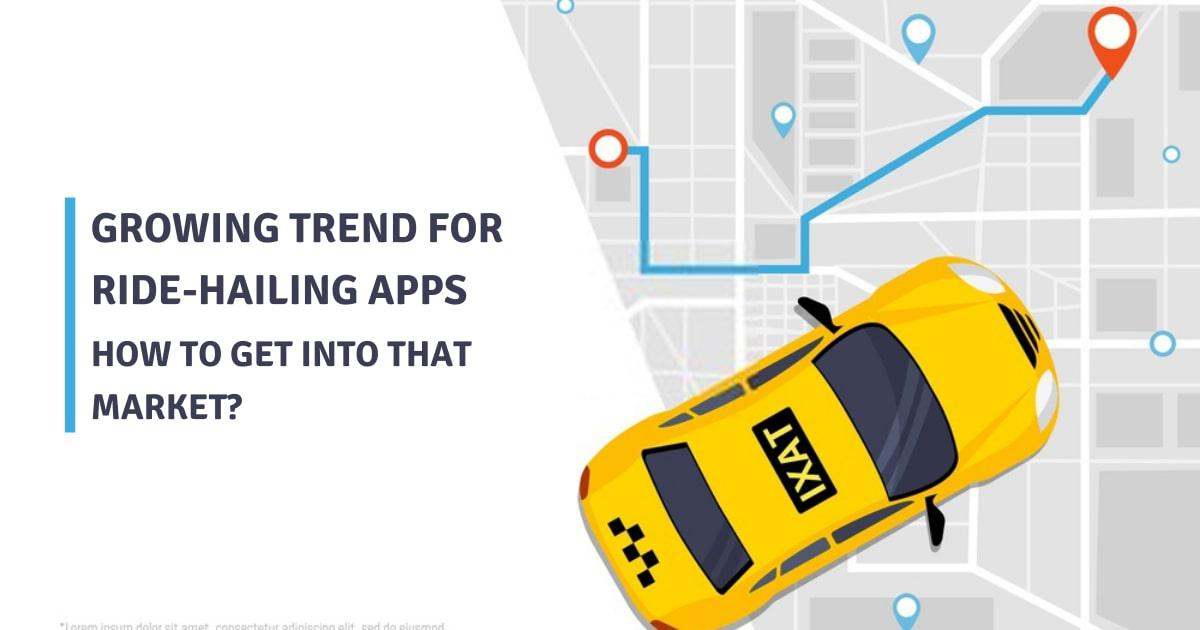 Growing trend for ride-hailing apps