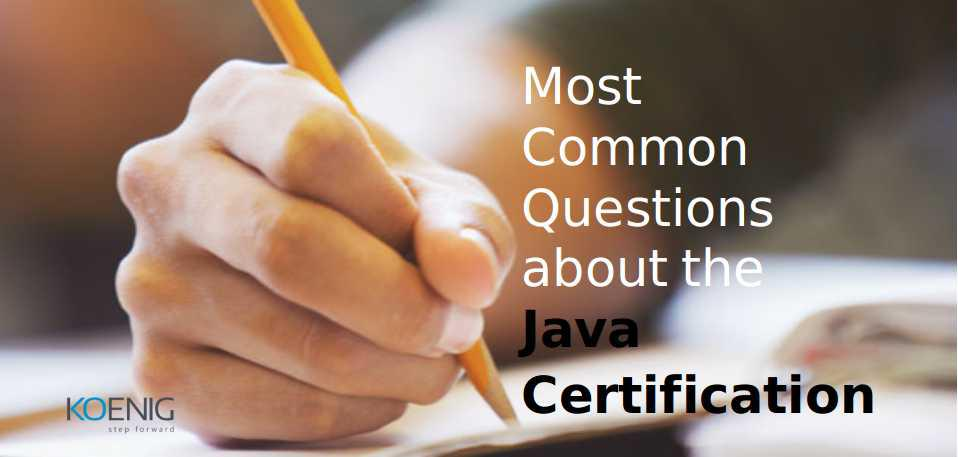 about the Java Certification