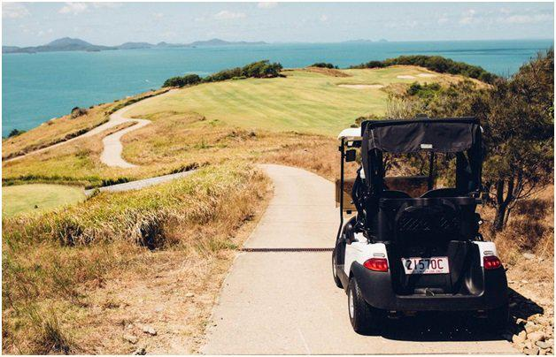 Golf Buggy And Explore The Island