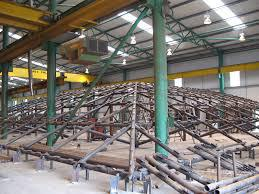 employing a structural steel fabricator