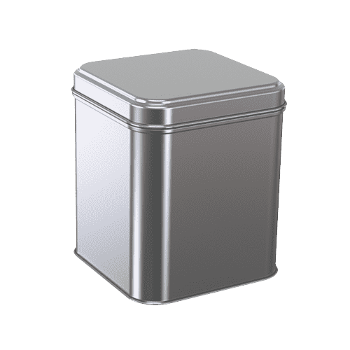 Small Tin Container